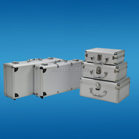 Free Shipping 225 170 85mmPortable Aluminum Toolbox Instrument Case Medicine Equipment Part Toolcase Cosmetic Box Tool