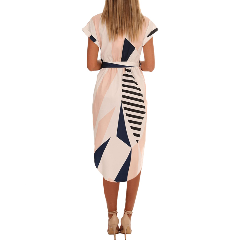 Sundress Vestido Plus Size Bandage Women's Dresses Robe Femme 1