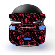 Red heart decal PSVR Skin Sticker for Sony Playstation PS VR Headset