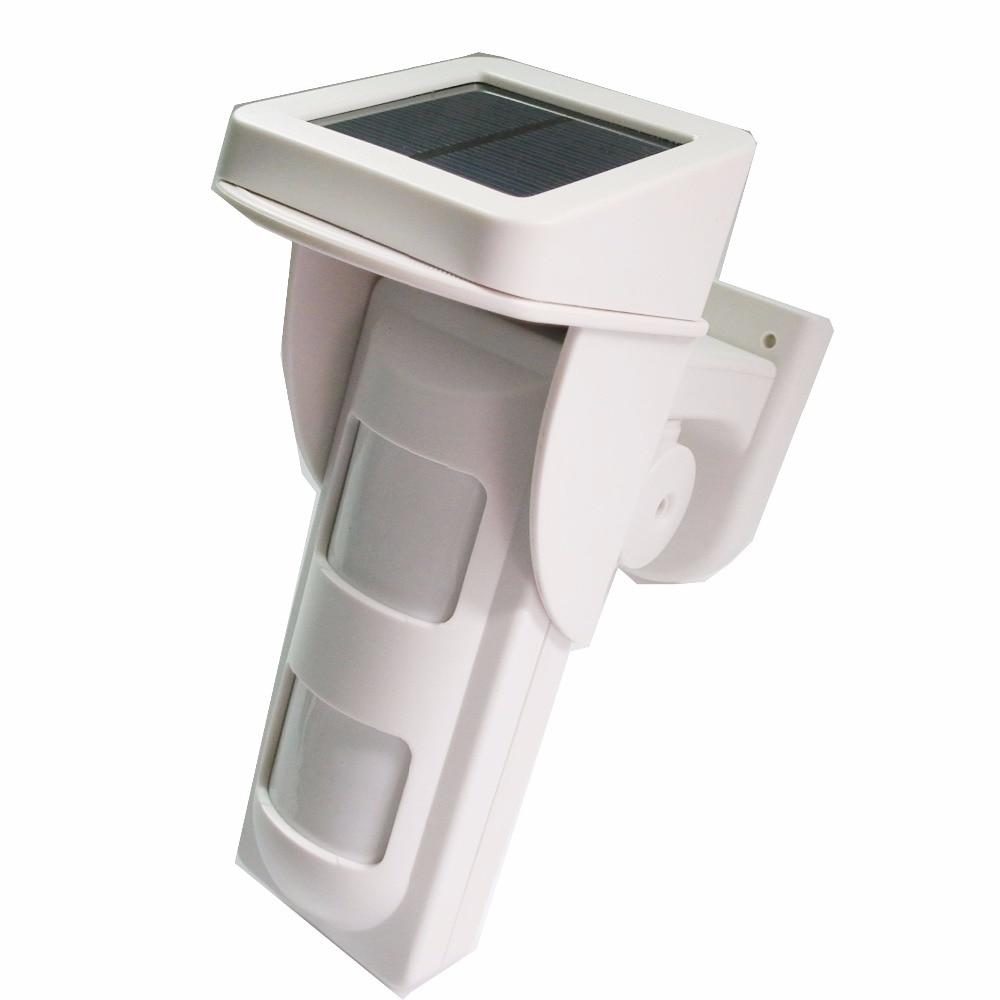 433mhz solar power outdoor wireless PIR detector sensor compatible with  Golden security alarm KeRui alarm PGST Alarm433mhz solar power outdoor wireless PIR detector sensor compatible with  Golden security alarm KeRui alarm PGST Alarm