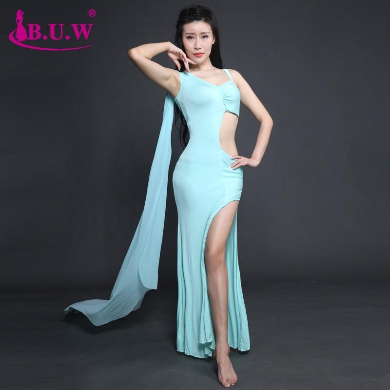2018 New B.U.W Branded Women's Belly Dance  Costume Belly Dancing Clothes Bellydance Dress 8166