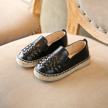 Girls Weave Fisherman Shoes 2018 Spring New Children's Shoes Korean Boys Casual Kids Shoes