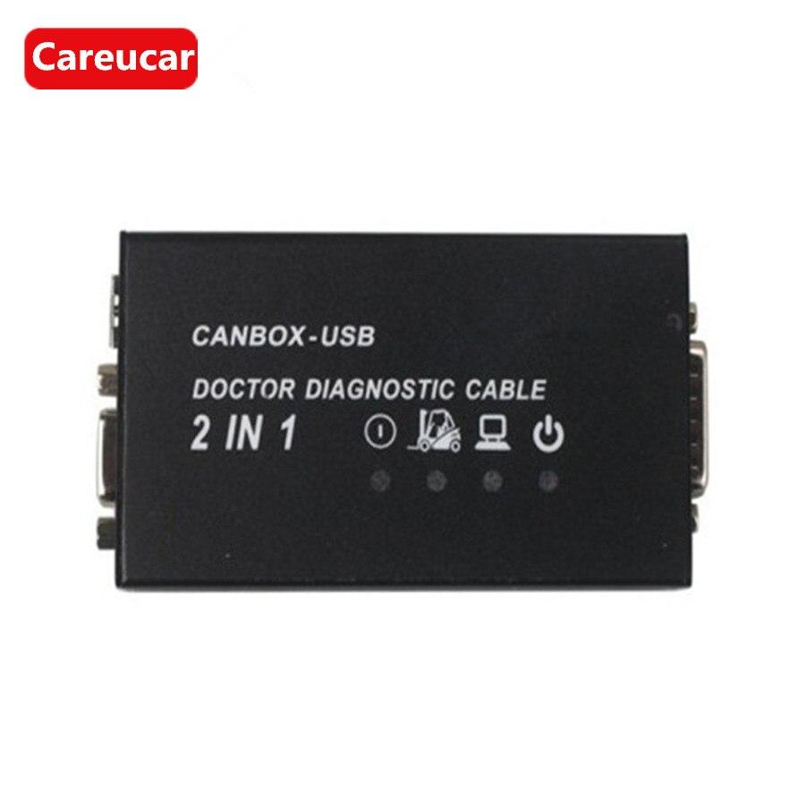 Цена за Для Linde canbox и Доктор диагностический кабель 2 в 1 2014 версия Для Linde canbox Для Linde доктор