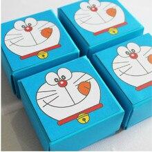 Дизайн, 20 шт./лот, классическая коробка для конфет Doraemon, лучший подарок на вечерние праздники или день рождения ребенка