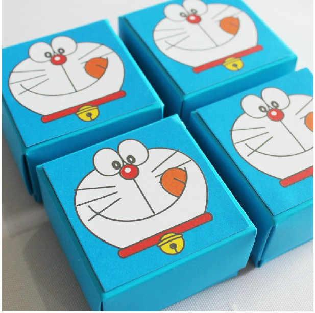 Thiết Kế mới Khuyến Mãi 20 cái/lốc Cổ Điển Doraemon Kẹo Hộp Quà Tặng Tốt Nhất Cho Bữa Tiệc Hoặc Sinh Nhật Bé