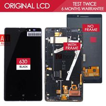 100% Tested Original Black AMOLED 1920×1080 Display For NOKIA Lumia 930 LCD with Touch Screen Digitizer Assembly with Frame