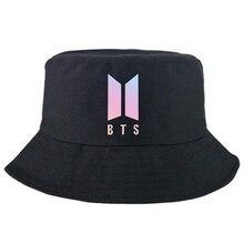 Los hombres de verano sol gorra triste niños playa BTS sombrero de cubo dos  Reversible Unisex de moda sombrero de cubo Bob tapas 969408a8683