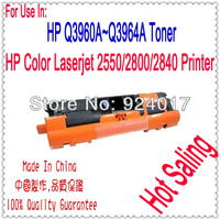 For HP Toner Q3960A Q3961A Q3962A Q3963A Cartridge,Toner Use For HP Color Laserjet 2550 2800 2820 2840 Printer,For HP 2550 2820