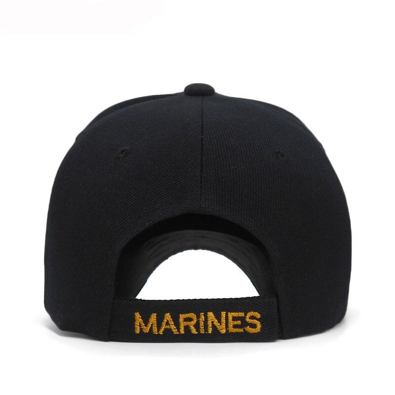 2018 Tático EUA Marines Chapéu Boné de Beisebol Ao Ar Livre Dos Homens Do  Exército DOS EUA Navy Seal Tactical Osso Casquette Snapback Tampas  Ajustáveis em ... e9aaa44faee