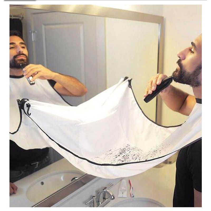 Brainbow 1 комплект 3D черный салон парикмахерские накидки Парикмахерская для стрижки волос плащ для парикмахерской мужчины средства ухода за бородой передник для бритья ткань для волос с 2 крючками