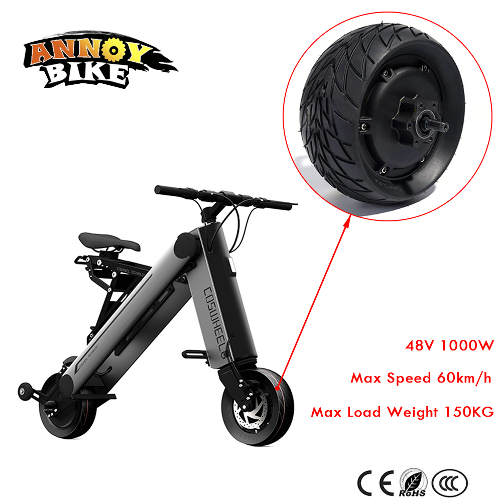 48V 1000W 8 Inch Electric Bicycle Motor Fat Tire 200*90 8'' wheel Brushless Toothless Hub Motor E bike Engine Wheel Motor 14 5 800w 36v electric wheel hub motor electric bike motor electric longboard skateboard wheel hub motor
