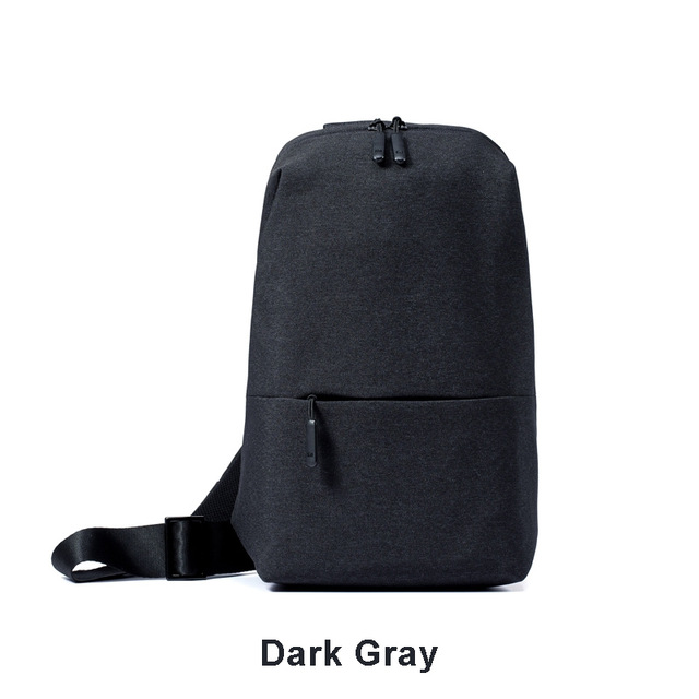 lowest price Original Xiaomi Mi Backpack Urban Leisure Chest Pack Bag For Men Women Small Size Shoulder Type Unisex Rucksack Backpack Bags La