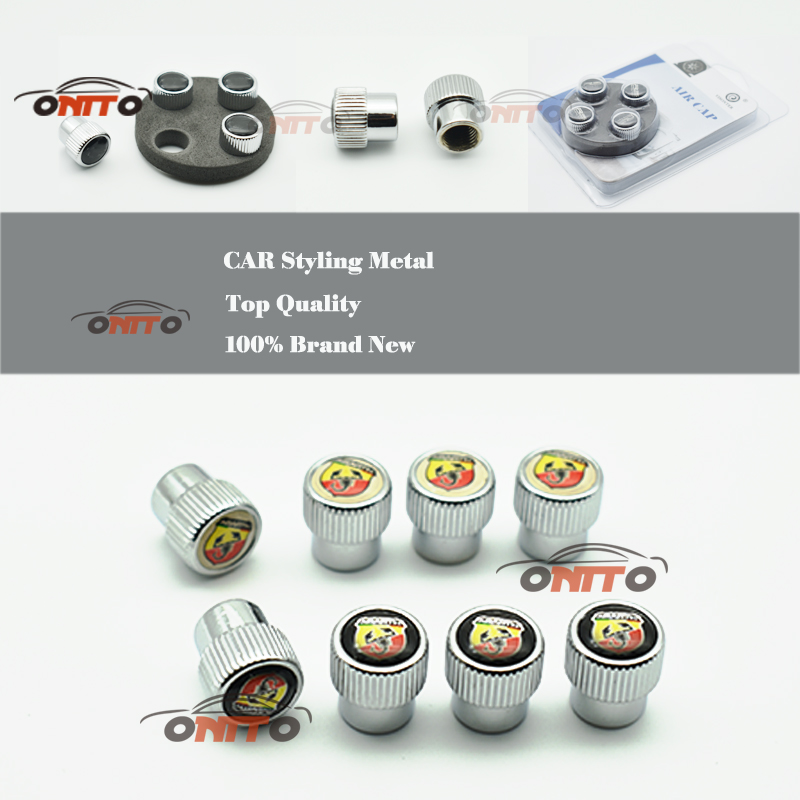 Tire Accessories Universal Aluminum Car Wheel Tire Valves Tyre Stem Air Caps Airtight Cover for 124 125 125 500 695 OT2000 Coupe