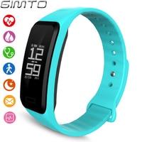 GIMTO Sport Smart Uhr Elektronik Armband Kinder Uhren Jungen Armband Bluetooth Herzfrequenz Schrittzähler Kinder Beobachten Digital