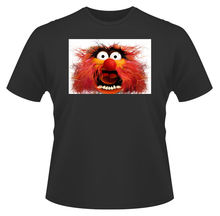 Mens T-Shirt, The Muppets Animal Close Up Ideal Birthday Present or Gift New T Shirts Funny Tops Tee Unisex