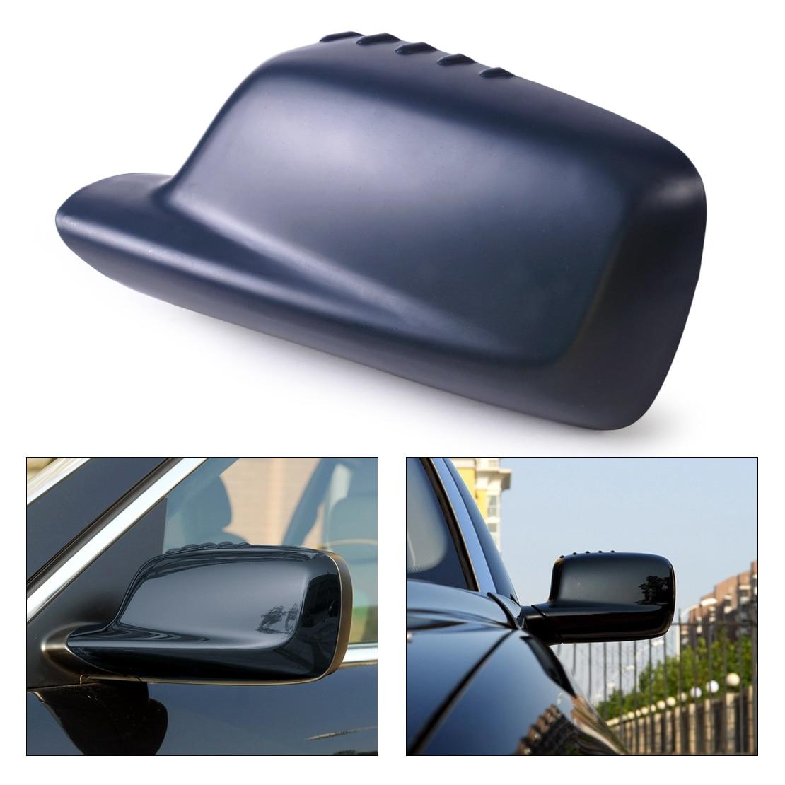beler New Arrival 1Pc Left Door Mirror Cover Cap Case 51167074235 Fit for BMW E46 E65 E66 330Ci 323Ci 325Ci 745i 750i 750Li 760i for bmw e65 e66 7 series oem front window windshield wiper blade set new 745i b7 oe 61 61 0 442 837 new