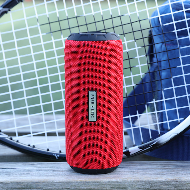 Portable Wireless Column Loudspeaker Mini Bluetooth Speaker Music Subwoofer Stereo Sound Outdoor M2