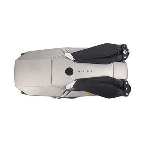 Image 3 - Шумоподавляющие пропеллеры Sunnylife для DJI Mavic Pro Platinum 8331F Mavic Platinum с низким уровнем шума быстросъемные пропеллеры золотистого и серебристого цвета