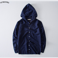 Male shirts 2018 New mens long sleeve hooded linen shirts casual mens cotton shirts solid color M 4XL mens clothing loose tops