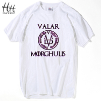 HanHent Valar Morghulis Game Of Thrones T Shirts Men Fashion Summer Clothing All Men Must Die