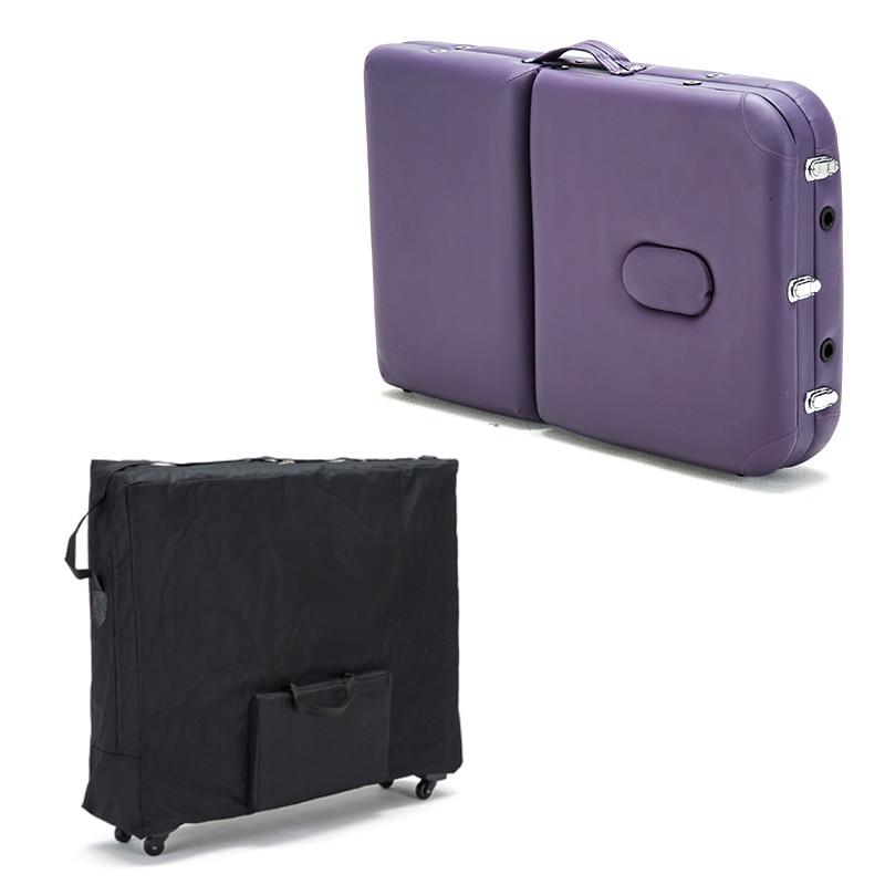 Купить с кэшбэком 15%,Push-pull folding storage bag for massage bed beauty bed waterproof backpack with wheel Wear-resistant oxford cloth 93*70cm