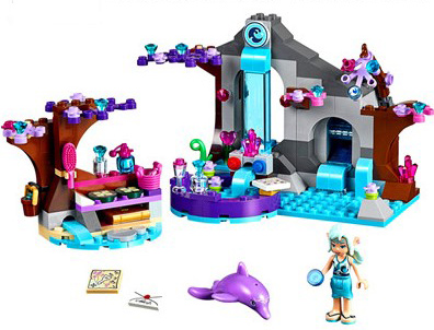 BELA 10410 Girl Naida Secret Spa Fairy Эльфы Blocks Set - Дизайнерлер мен құрылыс ойыншықтары - фото 2