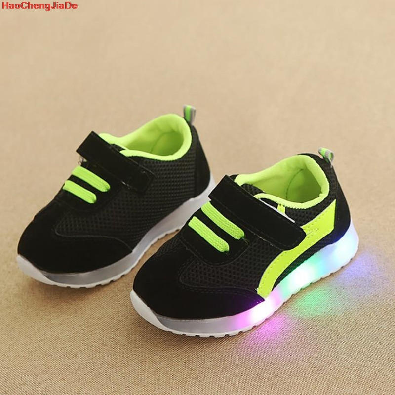 New Fashion Children Glowing Shoes Princess Bow Girls Led Shoes Spring Autumn Cute Baby Sneakers ShoesNew Fashion Children Glowing Shoes Princess Bow Girls Led Shoes Spring Autumn Cute Baby Sneakers Shoes