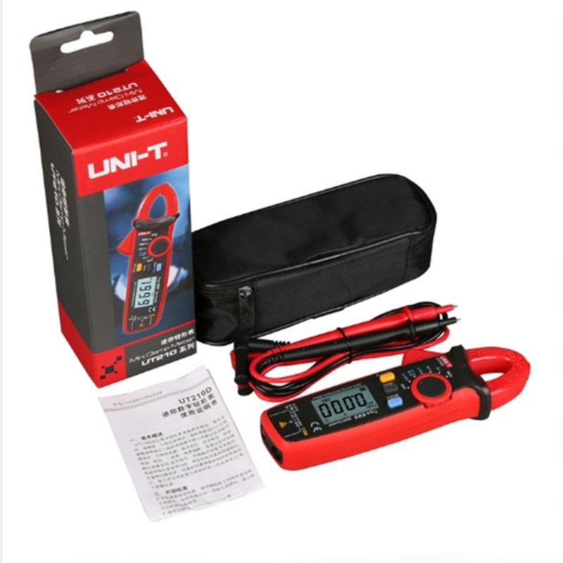 UNI T Digital Clamp Meter AC DC Current True RMS Voltage Resistance Capacitance Tester Max 200A