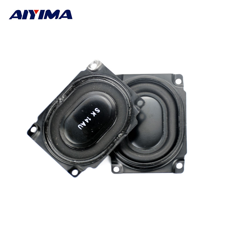 AIYIMA 2pcs 54*43mm SK Bass Speaker Protective Grille Diaphragm DIY for Car sound Box Speaker Low Audio Woofer Protective Grille