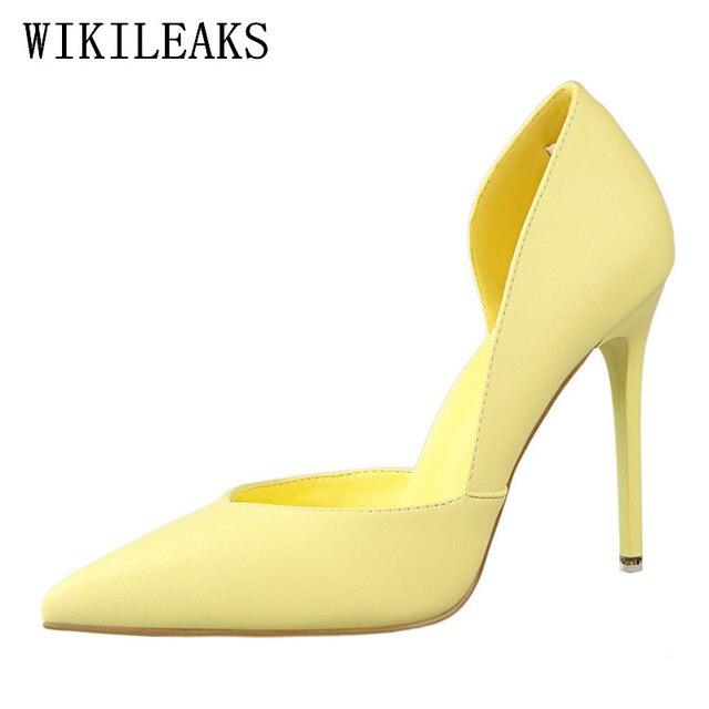047ee12fb5 Designer de sapatos de casamento de salto alto extremas bigtree tacones sapatos  mulher scarpin senhoras stiletto
