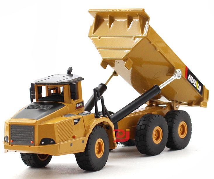 1:50 legierung gelenkter dumper modell spielzeug, hohe nachahmung legierung technik fahrzeugtyp, metall druckguss, großhandel