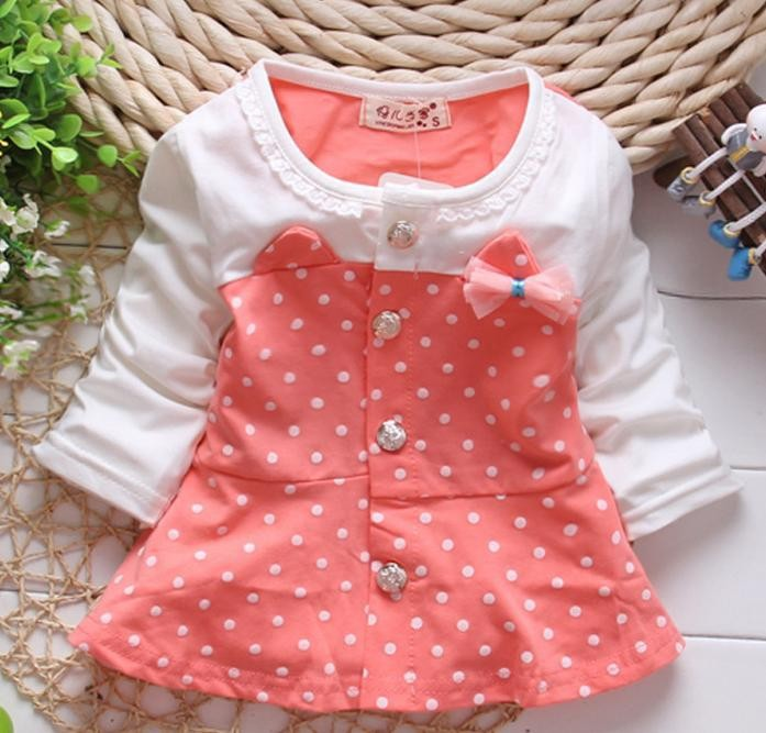 (1piece /lot) 100% cotton 2016 cute Butterflies and Flowers outwear for baby girl clothes