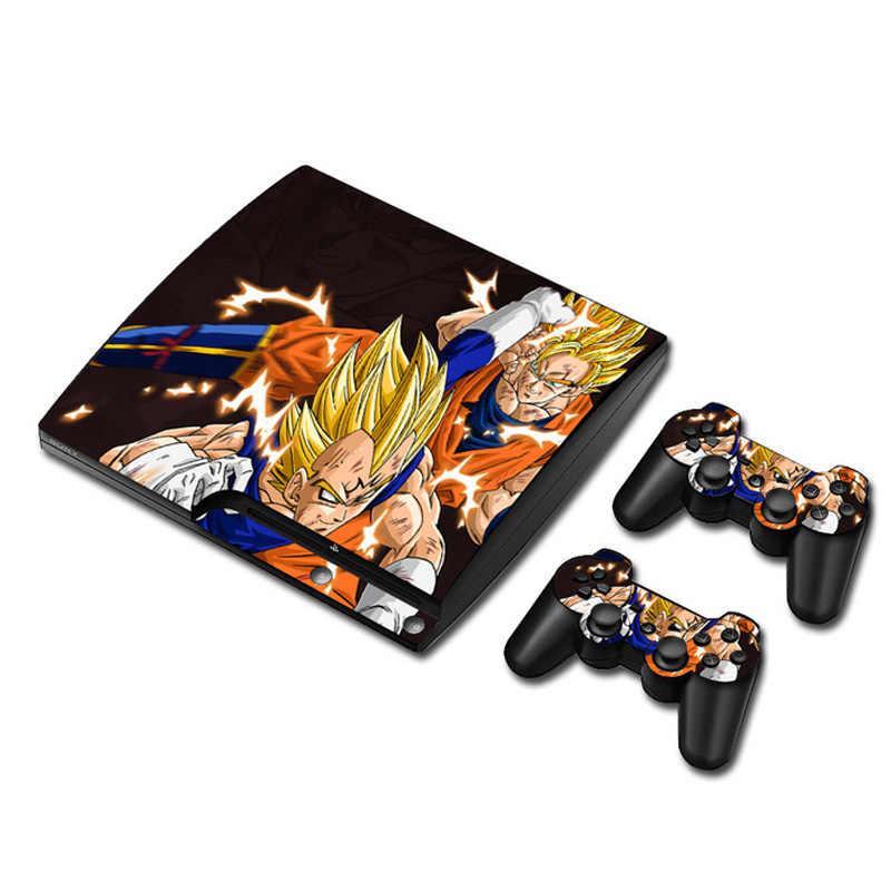 Жемчуг дракона виниловый Защитная Наклейка для sony PS3 тонкий Игровые приставки 3 тонкий и 2 контроллера Стикеры s