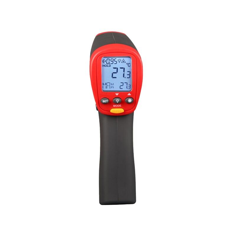 UNI T UT303C инфракрасный термометр измерения температуры от расстояние бесконтактные быстро Тесты температура 1050 Цельсия метр 30: 1
