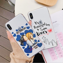 Greys Anatomy You are my person Case For iPhone X XS MAX XR 6 6S 7 8 Plus 5S SE High quality clear Soft TPU silicone Coque Cover