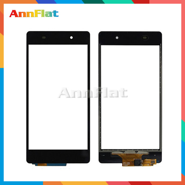 """10pcs/lot High Quality 5.2"""" For Sony Xperia Z2 L50w D6502 D6503 Touch Screen Digitizer Front Glass Lens Sensor Panel"""