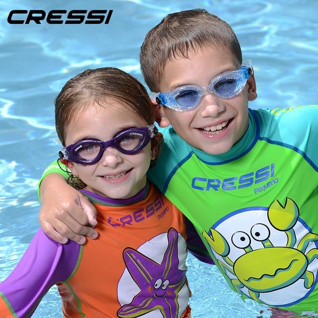 8290186b7f1 Cressi CRAB Boys and Girls Swim Goggles Eye Wear Child Children Kids Junior  Swimming Gear