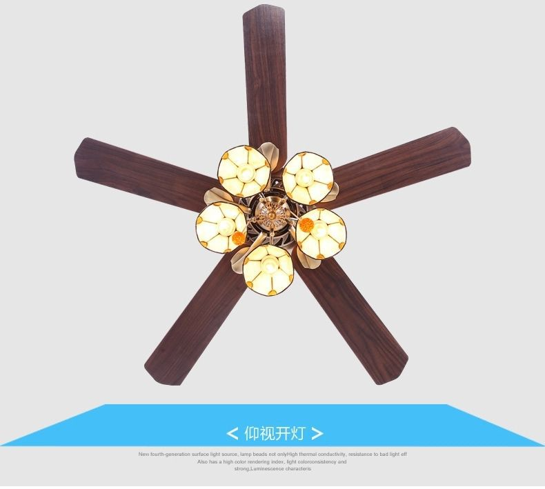 Copper ceiling fan light copper shade 52 inch ceiling fan light copper ceiling fan light copper shade 52 inch ceiling fan light lamps art restaurant fan lights living room lamps fan new in ceiling fans from lights aloadofball Image collections