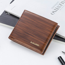 High Quality Luxury Pu Leather Wallets Bifold Purse Vintage Crazy Horse Clutch Men Retro Coin Pocket