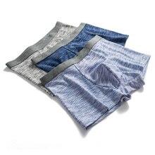 Cotton men's underwear stretch Soft Comfortable Thread Underpants Boxers male men boxer 3342