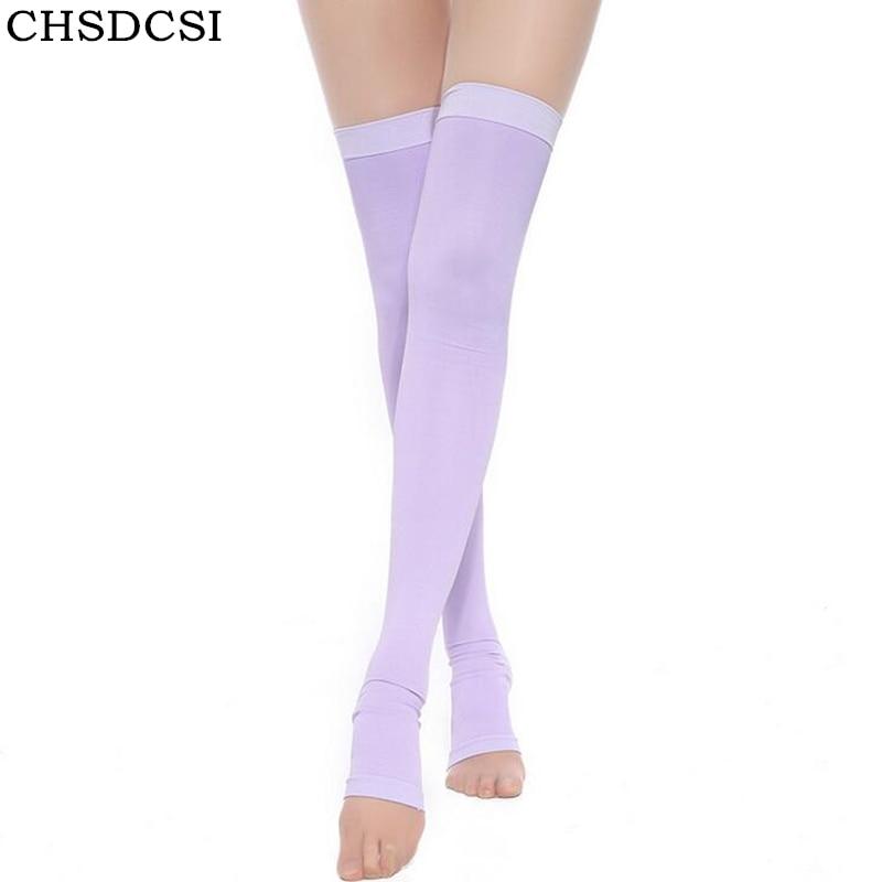 420D Compression Stockings Legs Professional Anti Varicose Fat Burning Stovepipe Lycra Women Stockings Sleeping Stockings Health
