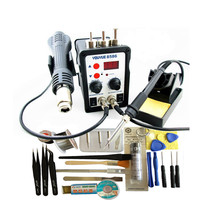 YOUYUE 8586 110V 220V 700W 2 In 1 SMD Rework Soldering Station Hot Air Gun Solder