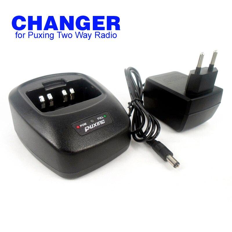 imágenes para Ue / ee.uu. PX-888K PX-UV973 PX-777 PX-328 PX-728 PX-888 VEV-3288S Walkie Talkie cargador con adaptador de ca para Puxing Radio de dos vías