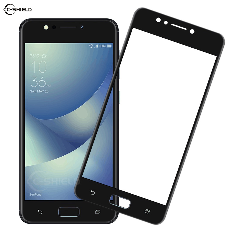 Full Cover Glass for ASUS Zenfone4 Max ZC520KL X00HD ZC 520KL <font><b>ZC520</b></font> <font><b>KL</b></font> Screen Protector Film for ASUS_X00HD ZOOHD Tempered Glass image