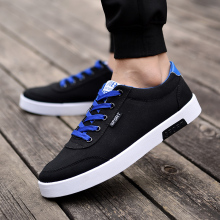 YeddaMavis Sneakers New Summer Men Shoes Trend Canvas Male Casual Mens Low Outwear Flats Breathable Driving