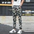 2016 Моды для Мужчин Военный Камуфляж Брюки Мужчины Большой Размер Оснастки Носить Брюки Легко Отдых Армейские Брюки Jogger Брюки 28-38
