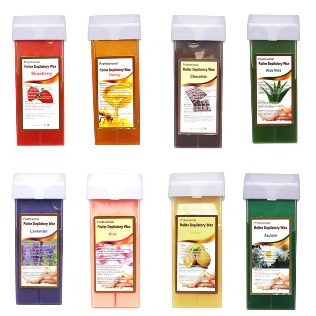 100g Depilatory Wax Remover ครีมกำจัดขน Waxing Hard Depilation Honey Roll - On Hot Wax ผิวทุกประเภทบิกินี่กำจัดขน