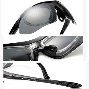Image 5 - الاستقطاب حملق النظارات الشمسية الرجال النساء 5 في 1 الرياضة في الهواء الطلق النظارات البصرية وصفة طبية إطارات نظارات نظارات