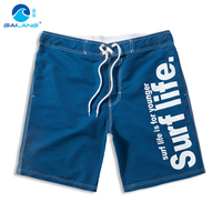 2016 Mew Arrival Male Board Shorts Swim Surf Beach Shorts Fashion Letter Mens Bathing Suit Bermuda