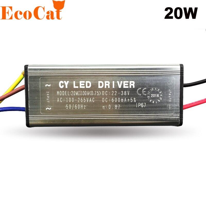 LED-Treiber Netzteil 10W 8-12x1W 300mA 20-40V 230V IP66
